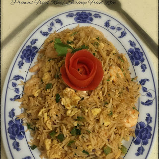 Prawns Fried Rice / Shrimp Fried Rice
