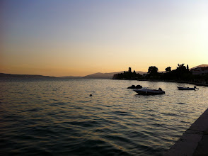 Photo: Sunset in Kastela