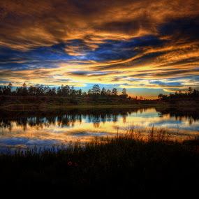 Glory by Ed Mullins - Landscapes Sunsets & Sunrises (  )
