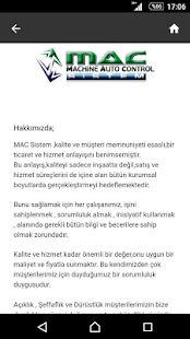 Mac End.Mak. İml. Tic.Ltd.Şti.- screenshot thumbnail