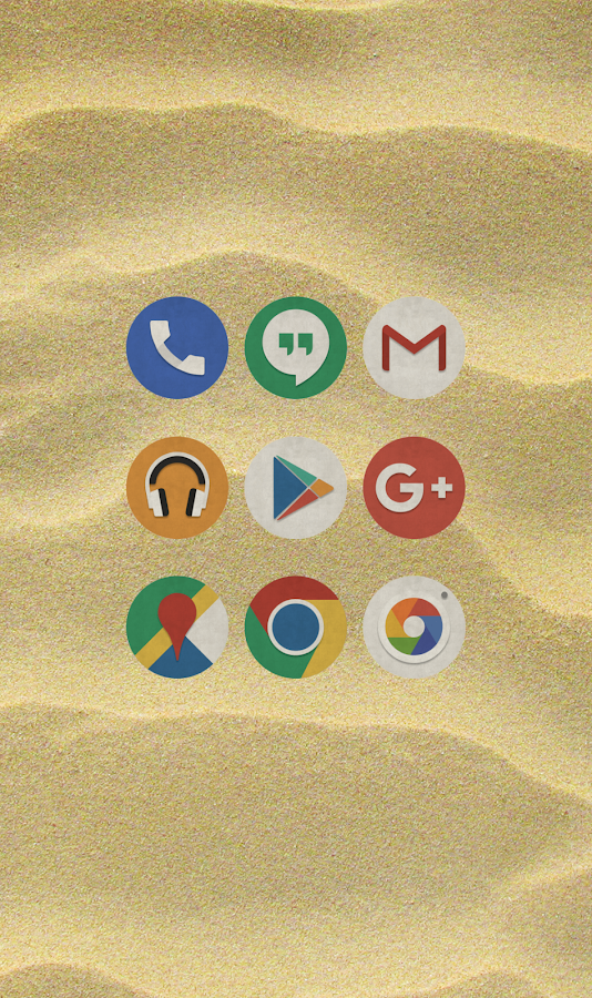 Aloha Icon Pack- screenshot
