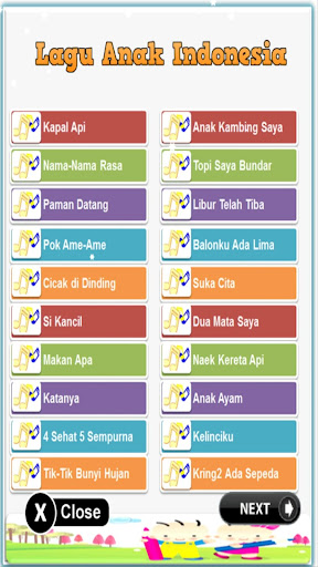 Children Song Indonesia & English