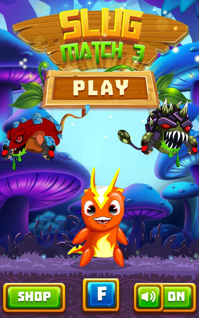 Slug Match 3 RPG Android 1