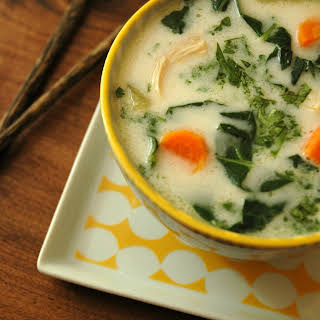 Thai Chicken Coconut Soup.