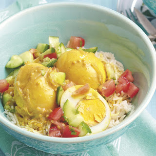 Curried Eggs and Rice
