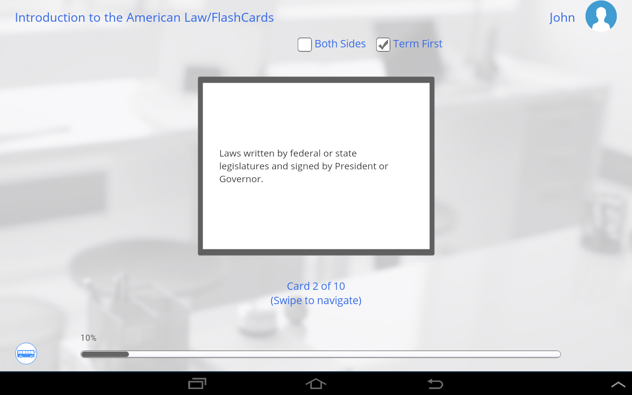 Learn US Law by GoLearningBus- screenshot