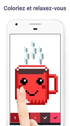 Pixel Art: Livre de peinture à numéros  captures d'écran 1