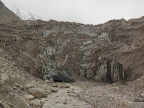Photo: Day 6 - en route to Nandanvan, Gaumukh, marking the start of the Gangotri glacier