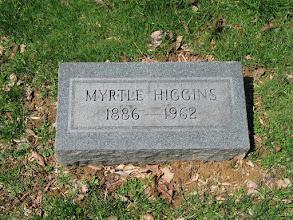 Photo: Higgins, Myrtle