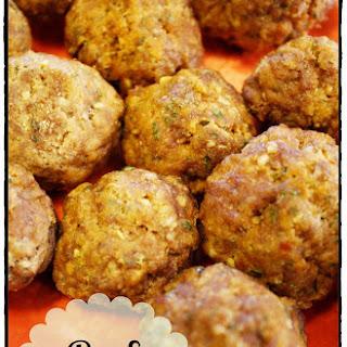 Beef Meatballs.