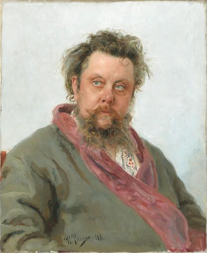 Portrait du compositeur Modeste Moussorgski