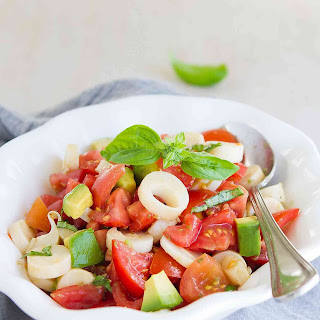 Tomato and Hearts of Palm Salad {Vegan}.