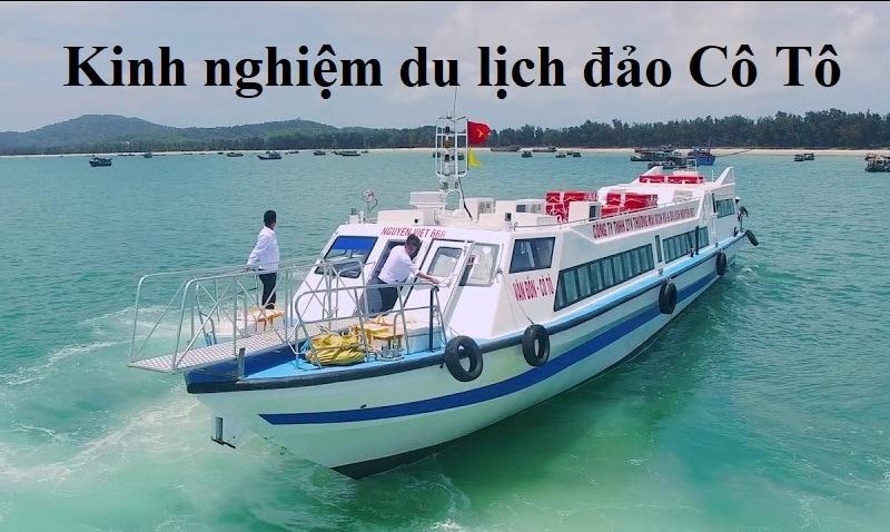 Mách bạn phương tiện đi tour du lịch Cô Tô thuận tiện nhất