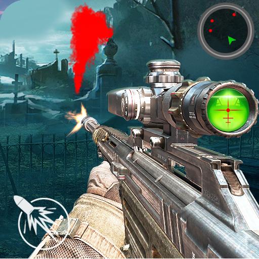 Zombie Sniper Shooting 3D
