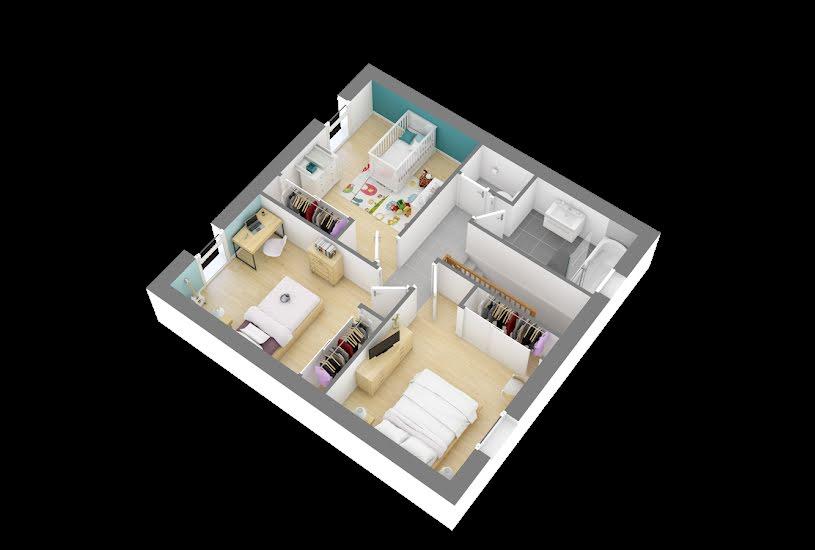 Vente Terrain + Maison - Terrain : 815m² - Maison : 90m² à Montagny-lès-Beaune (21200)