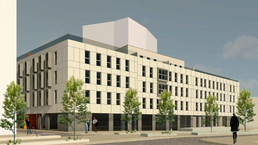 Imagen de archivo del diseño de una promoción de viviendas prevista en Avenida de Vilches.