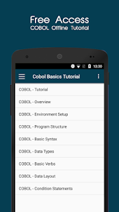 Cobol Offline Tutorial- screenshot thumbnail