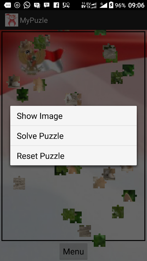 Puzzle Indonesia Merdeka- screenshot