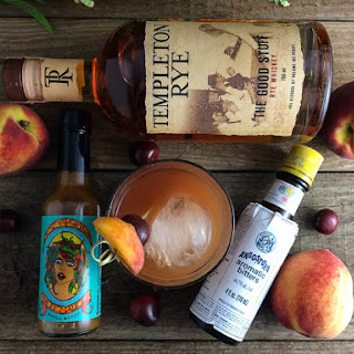 Fired Peach Old Fashioned