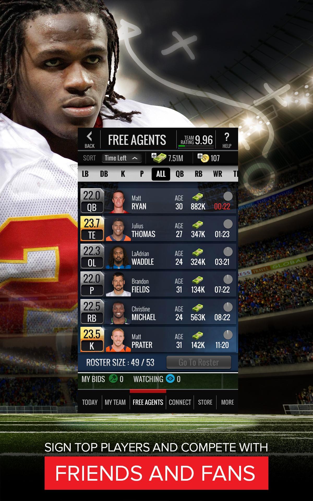 NFL Showdown: Football Manager screenshot #14