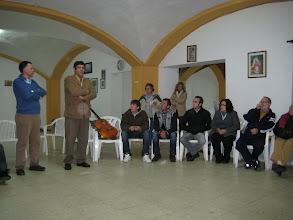 Photo: CON EL HERMANO MAYOR DE LA COFRADIA