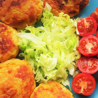 Couscous and Vegetable Cutlets.