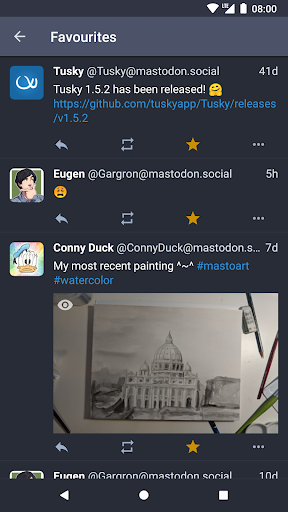 Tusky for Mastodon screenshot 5