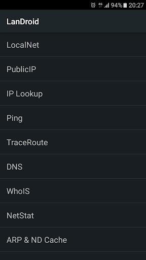 LanDroid 1.37.2 screenshots 1