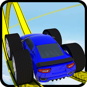 Impossible car stunt games