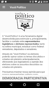 Voce Politico - Democracia Participativa- screenshot thumbnail