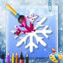 Ice Princess Coloring Book Games For Girls icon