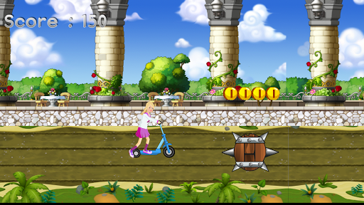 Miss Barbie Ride Scooter
