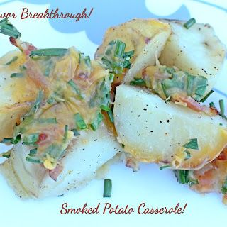 Smoked Potato Casserole!