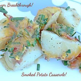 Smoked Potato Casserole!.