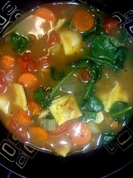 Vegetable Tortellini Soup Recipe