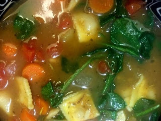 Vegetable Tortellini Soup Recipe