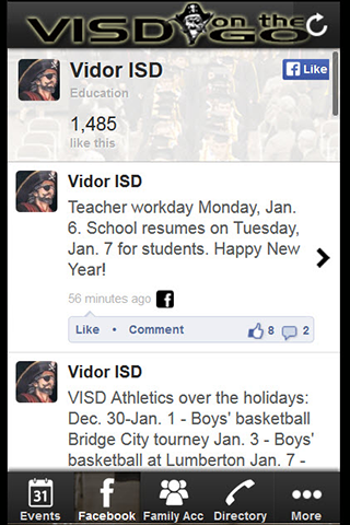 VISD on the GO- screenshot