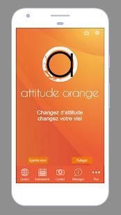 Attitude Orange - náhled