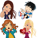 Stickers For Whatsapp - 20 Packs icon