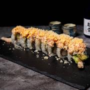208 Spicy Crabmeat Dragon Roll