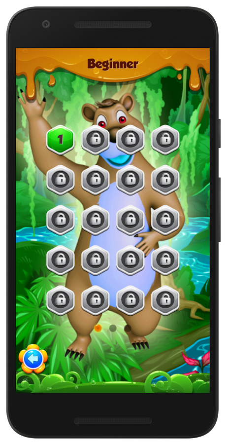 Beehive Bear: Honeycomb Hex Puzzle- screenshot