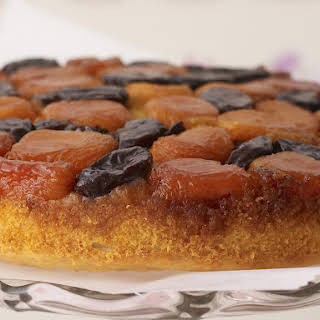 Apricot and Prune Cake.