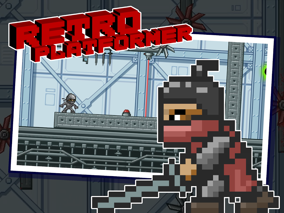 Epic Ninja - 2D Platformer- screenshot