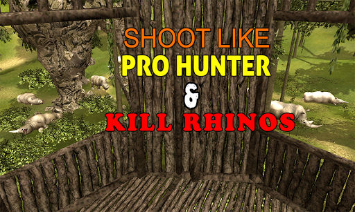 Wild Rhino Hunter Simulator