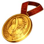 ネロメダル(金)