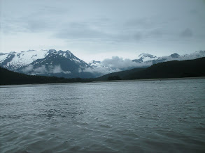 Photo: Eagle River enters Lynn Canal.