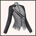 銀刺繍の上着