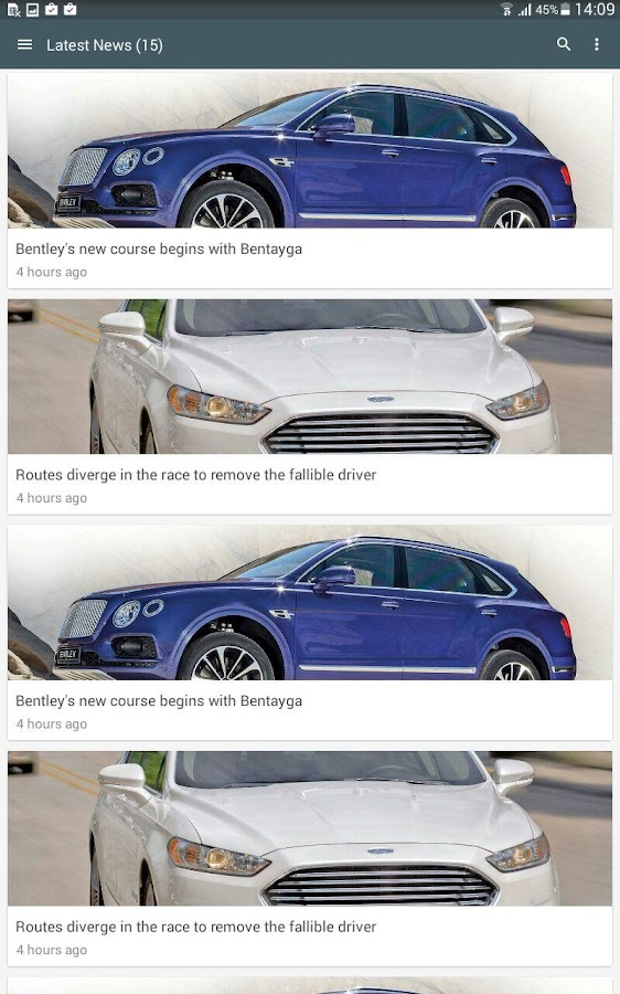 Auto World - Auto News- screenshot