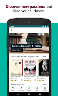 Scribd - Reading Subscription Screenshot