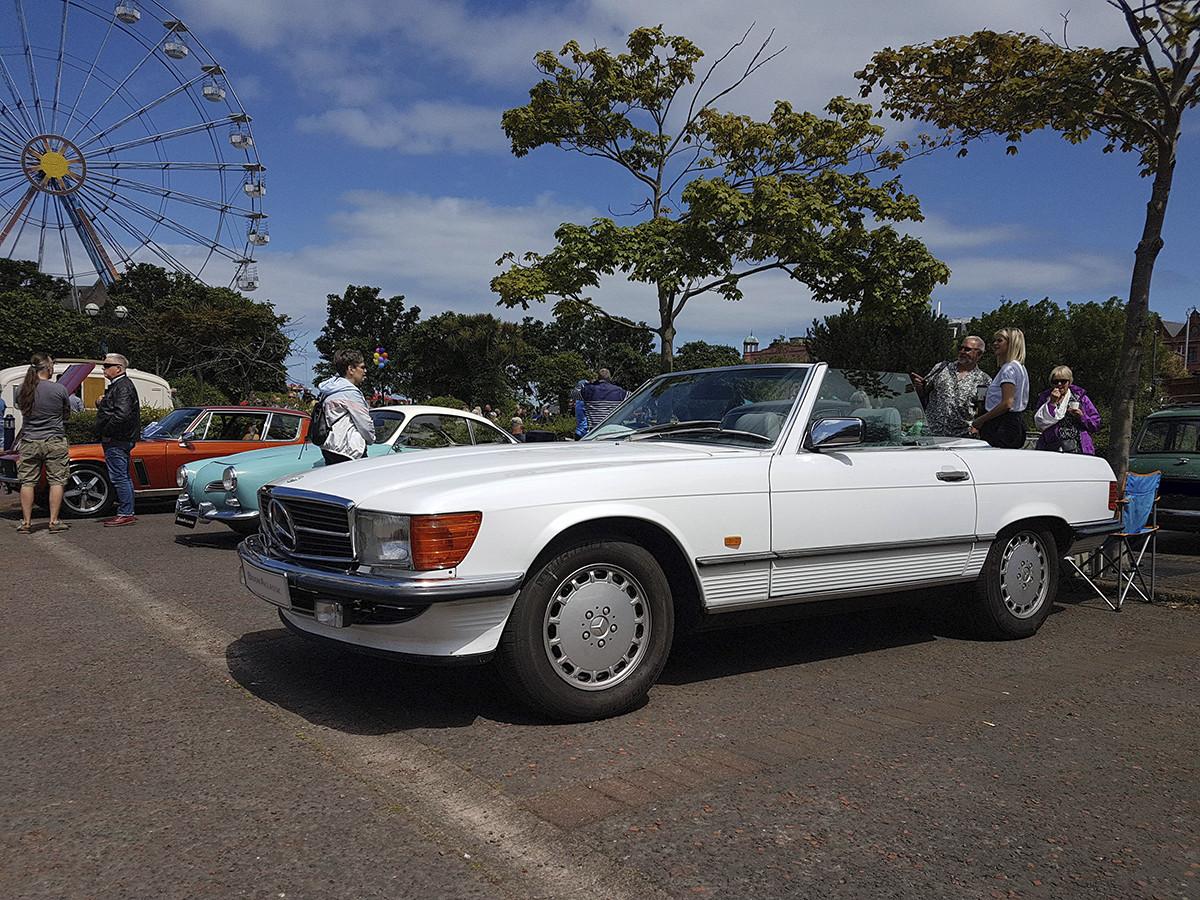 Mercedes-Benz Sl500 Hire Bangor